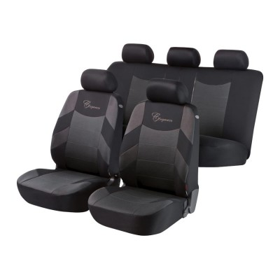Autopoťah Elegance 3ks grey/black BASIC