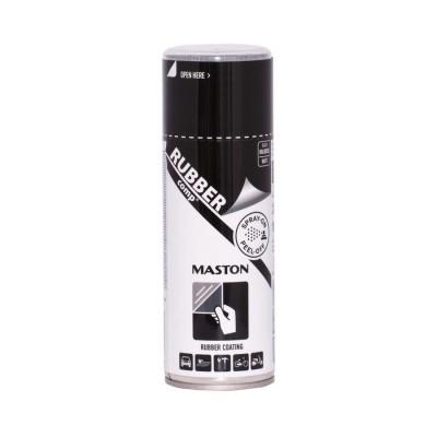 MasRUBBERcomp sprej Čierny matný 400ml