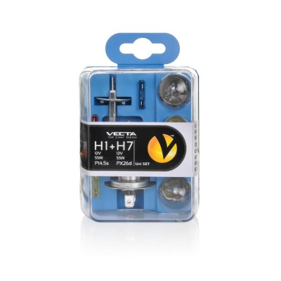 Sada žiaroviek H1+ H7 UNI SET