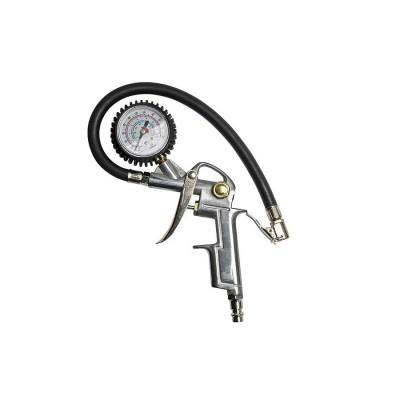 Vzduchová pištol s meračom a hadicou