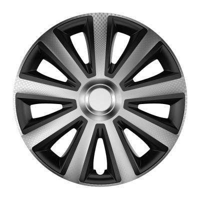 16 Aviator carbon silver&black