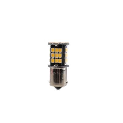 LED Bal15s 48xSMD2835 CANBUS 12V White