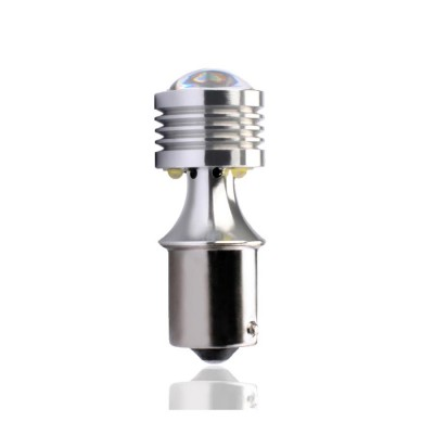 LED BA15s 4xHP LED 12-24V White