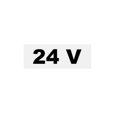 Samolepka  24V