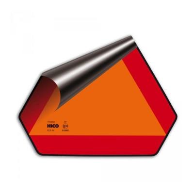 Trojuholník pre pomalé vozidlá E8 samolepka