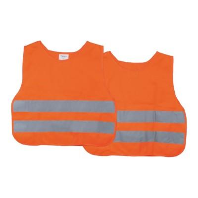Reflexná vesta detská oranžová