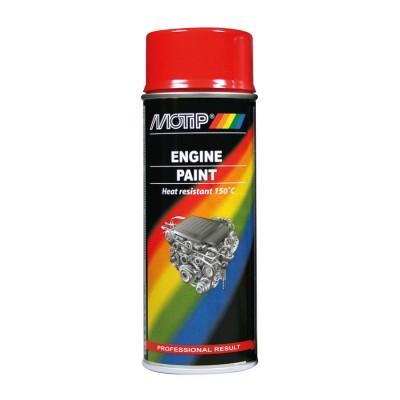 Farba na motor aluminium 400ml Motip