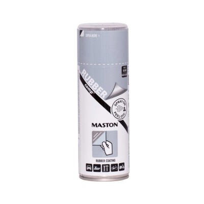 MasRUBBERcomp Silver 400ml lesklý