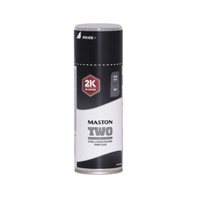 MasSpraypaint TWO 2K Primer Black 400ml