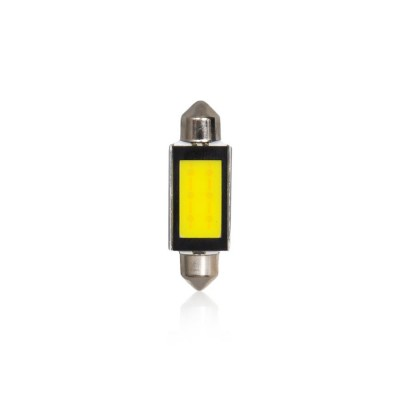 Žiarovka T11 41mm LED white COB-6W 2ks Double Blister