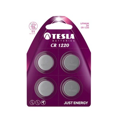TESLA CR1220 Lithium 4ks blister