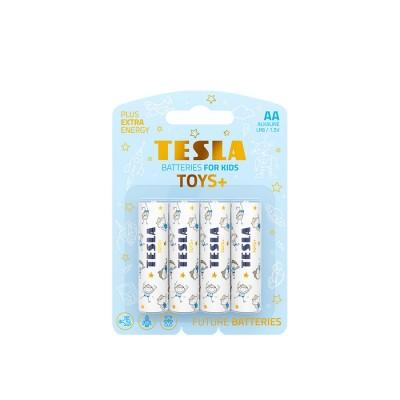 TESLA TOYS+BOY AA 4ks blister
