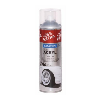 MasAutoACRYL spray Transparent 500ml