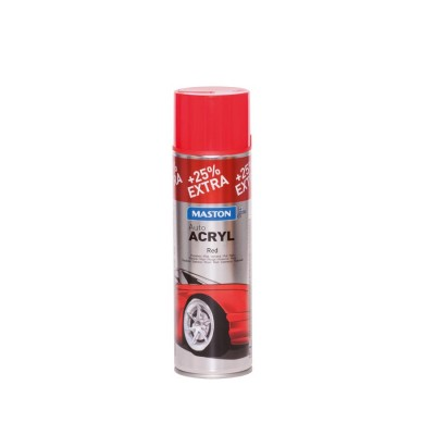MasAutoACRYL spray Red 500ml