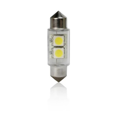Žiarovka T11 36mm FESTOON 2LED-5050SMD Blister Card 2ks