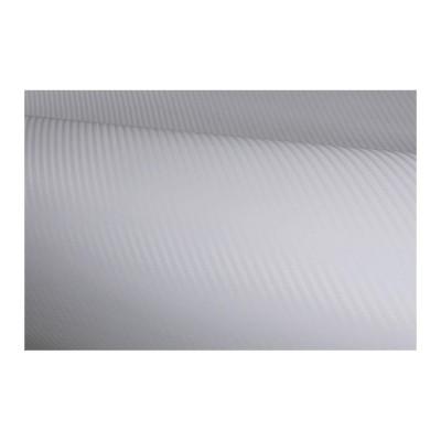 Autofólia so vzduch kanálikmi biela karbón BM
