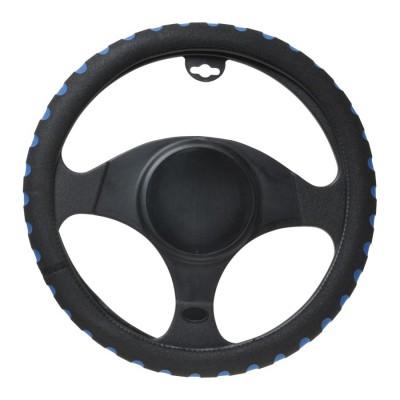 Poťah volantu šport modrý