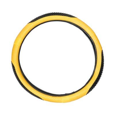 Poťah volantu color žltý