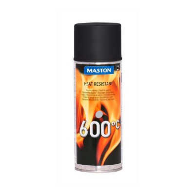 MasHeatresistant spray 400mml 600°C BLACK