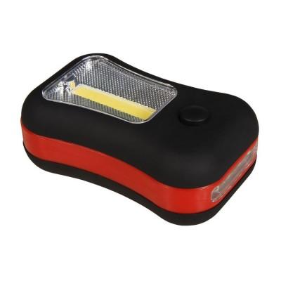Montážna lampa SOAP 3Wcob+4LED
