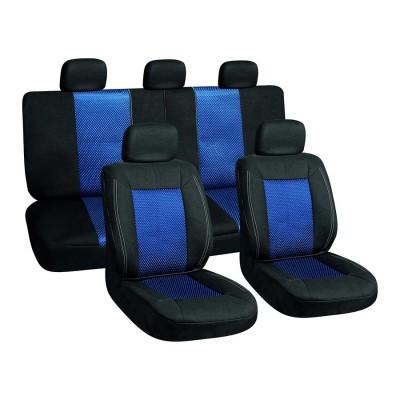 Autopoťah 3ks čierny/modrý AUTOMAX