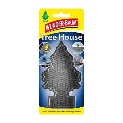 Osviežovač W-BAUM držiak black Tree House