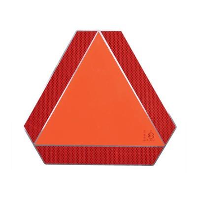 Trojuholník pre pomale vozidlá E8 so stojanom