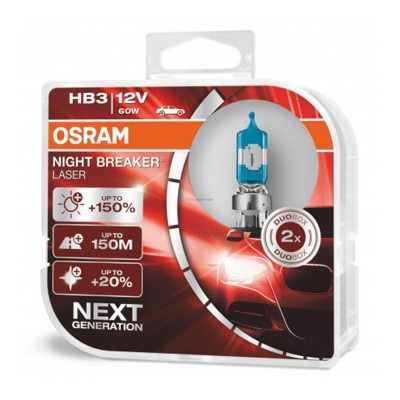 OSRAM HB3 Night Breaker LASER BOX
