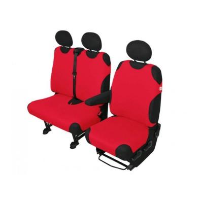 Autotriko VAN 1+2 červené AUTOMAX
