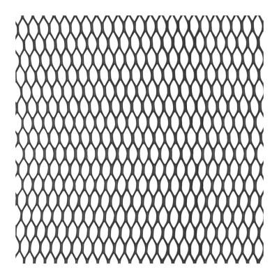 Mriežka AL čierna VO 100x25cm