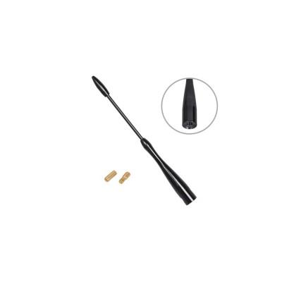 Antény prút čierny 16cm závit 5-6mm