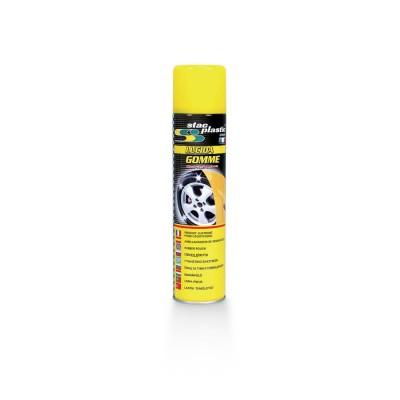 Spray na leštenie gumených povrchov 400ml STAC PLA