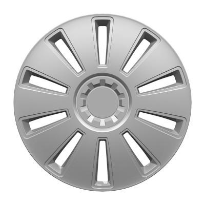 Puklice Grid silver 16