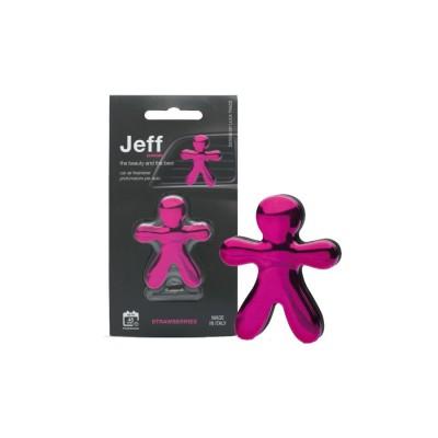 JEFF ružový chrome Strawberries