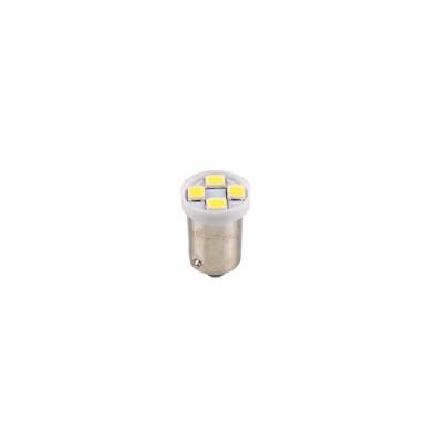 LED BA9s 12V 4xSMD 2835 White