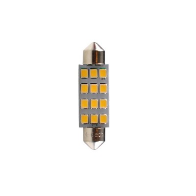 LED C5W 41mm 12xSMD3528 White