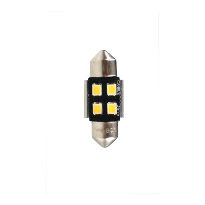 LED C5W 31mm 4xSMD2835 CAMBUS White