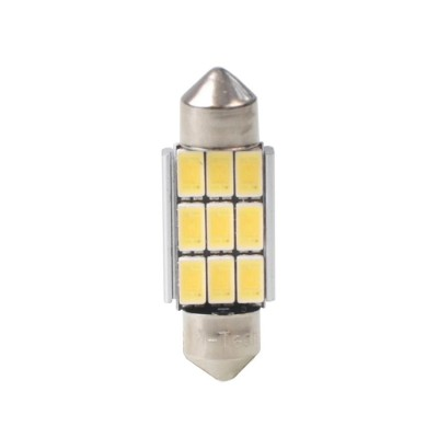 LED C5W 36mm 9xSMD5630 12V White PLATINUM