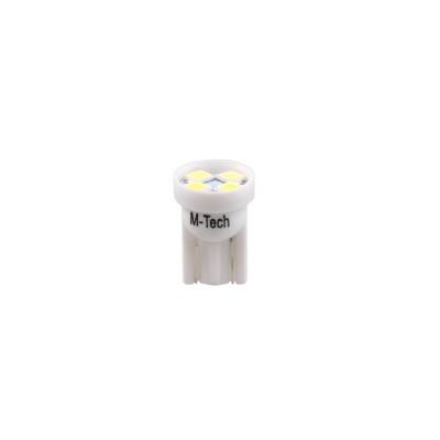 LED W5W 4xSMD3528 24V White