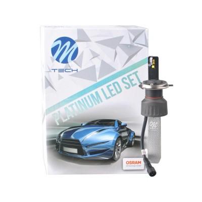 LED set M-TECH Platinum H4