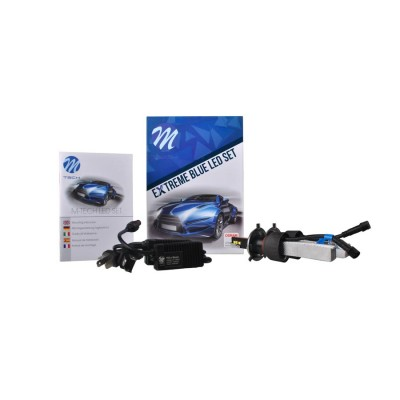 LED set M-TECH Extreme blue H4