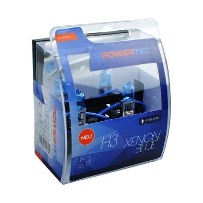 Powertec Xenon Blue H3 12V DUO
