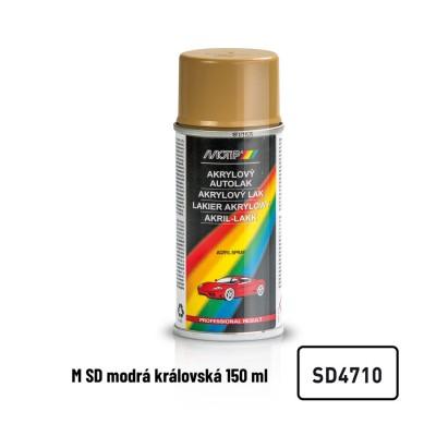 Akrylový autolak Škoda královská modrá SD4710 150ml MOTIP