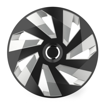 Puklice Vector RC black and silver 14